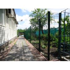 Сетка-забор Город в порошковом покрытии