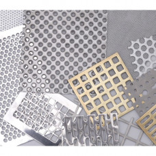 Лист перфорированный алюминиевый АД1М Rv 5-8 1*1000*3000 мм