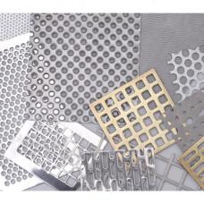 Лист перфорированный алюминиевый АМГ3Н2 Qg 8-12 1*1000*2000 мм