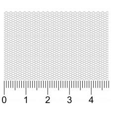 Просечно-вытяжная сетка R2х1х0.35х0.2-Zn вальцованная