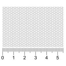 Просечно-вытяжная сетка R3х1.5х0.35х0.2-Zn вальцованная