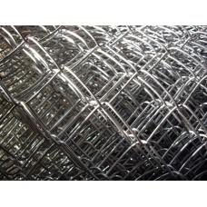 Сетка рабица оцинкованная 60*60 (d=1,8 мм) 1,5*10 м