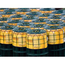 Сетка плетеная декоративная «АЖУР» 150*82 (d=2,4 мм) 1,25*10 м