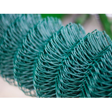Сетка плетеная покрытая полимером ПВХ 50*50 (d=2,8 мм) 2*10 м