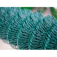 Сетка плетеная покрытая полимером ПВХ 50*50 (d=2,8 мм) 4*10 м