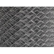 Сетка рабица стальная 45*45 (d=2 мм) 2*10 м