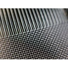 Сетка тканая нержавеющая с квадратной ячейкой 0,55х0,55 d=0,2