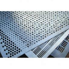 Решета для сепараторов БИС Мельинвест 750х1000, оц, 0,55, от 1,1 до 1,3, Круглые