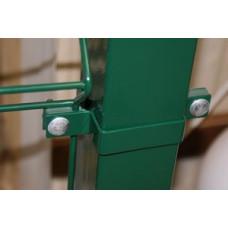Столбы прямоугольные без отверстий в ассортименте полимерное покрытие RAL