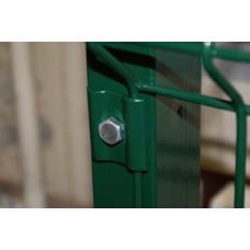 Столбы прямоугольные с отверстиями в ассортименте полимерное покрытие RAL