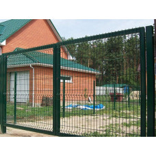 Ворота с полимерном покрытием
